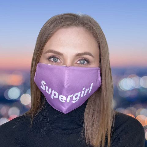 FACE MASK Supergirl - FACE MASK