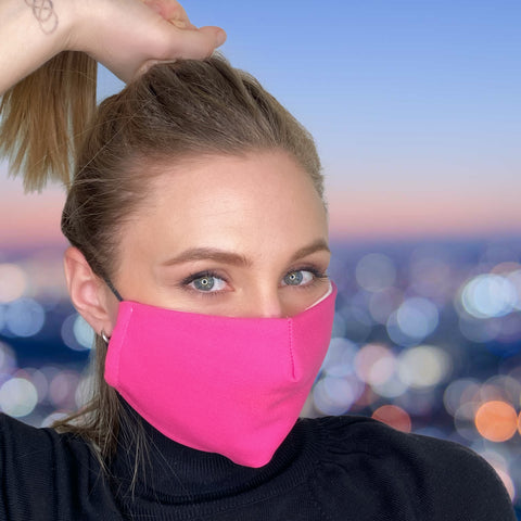 FACE MASK Barbie Pink - MULTI-PURPOSE MASK WITH F9 ePm1 FILTER