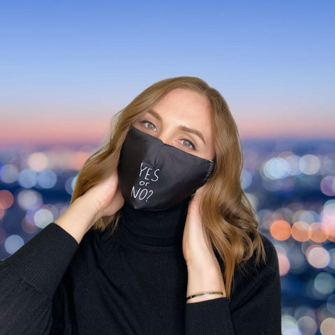 FACE MASK YES or NO - MULTI-PURPOSE MASK WITH F9 ePm1 FILTER