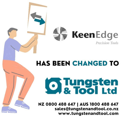 KeenEdge has been changed to Tungsten and Tool