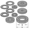 Arbor Sleeves/Spacer for assemblies - tungstenandtool