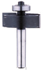 Tungsten Tipped Rebating Router Bit - 2 Flute - 1/4