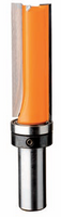 "Tungsten Tipped Inverted Flush Trim Router Bit with Down Shear - 2 Flute - 1/2"" Shank - tungstenandtool"