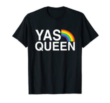 Ladda upp bild till gallerivisning, Funny shirts V-neck Tank top Hoodie sweatshirt usa uk au ca gifts for Yas Queen - Funny LGBT Gay Pride Flag Saying T-shirt 956816