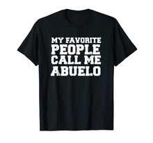 Ladda upp bild till gallerivisning, Spanish Father's Day T-shirt gifts for papi and abuelo