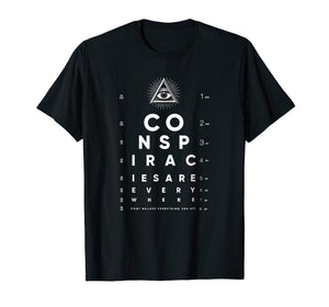Shane Dawson All-Seeing Eye Chart Conspiracy T-Shirt