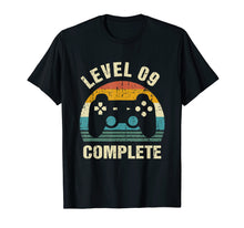 Ladda upp bild till gallerivisning, 9th Wedding Anniversary Gifts Level 9 Complete Gamer T-Shirt