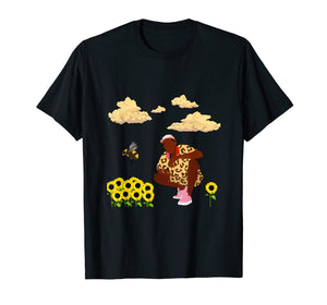 Bee Flower Boy T-Shirt Men Women
