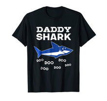 Ladda upp bild till gallerivisning, Funny shirts V-neck Tank top Hoodie sweatshirt usa uk au ca gifts for Mens Daddy Shark Doo Doo Doo T-shirt - Matching Family Shirt 1460581