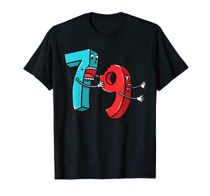 7 Ate (8) 9 Funny Math T Shirt