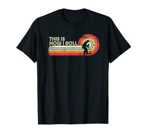 This Is How I Roll Shirt. Retro Style Scooter T-Shirt