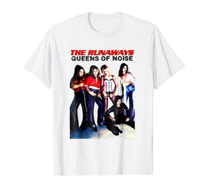 The Runaways T Shirt Queens Of Noise
