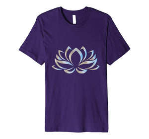 Beautiful Lotus Flower Yoga T-Shirt