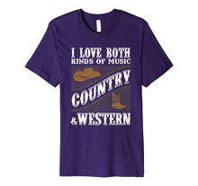 Ladda upp bild till gallerivisning, Funny shirts V-neck Tank top Hoodie sweatshirt usa uk au ca gifts for Country Music T Shirt I Love Both Country & Western Music 2545977