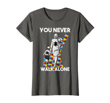 Ladda upp bild till gallerivisning, Funny shirts V-neck Tank top Hoodie sweatshirt usa uk au ca gifts for You Never Walk Alone Autism Mom T-Shirt Women Gift 960510