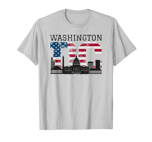 Funny shirts V-neck Tank top Hoodie sweatshirt usa uk au ca gifts for Washington DC Capitol Hill USA Flag Souvenir Shirt 1521085