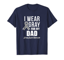 Ladda upp bild till gallerivisning, Brain Cancer Shirts For Men For Women I Wear For Dad