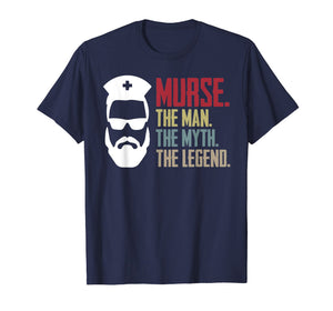 Funny shirts V-neck Tank top Hoodie sweatshirt usa uk au ca gifts for Murse The Man The Myth The Legend Vintage Male Nurse Shirt 1479883