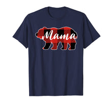 Ladda upp bild till gallerivisning, Buffalo Plaid Mama Bear T-Shirt Mothers Day Gifts