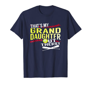 Funny shirts V-neck Tank top Hoodie sweatshirt usa uk au ca gifts for My Granddaughter - Baseball and Softball Grandpa & Grandma T 235664