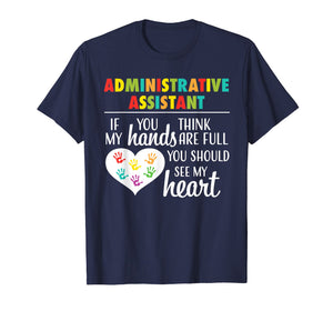 Administrative Assistant Appreciation Gift Tshirt For Women