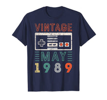 Ladda upp bild till gallerivisning, Vintage May 1989 30th Birthday Shirt 30 Year Old Shirt