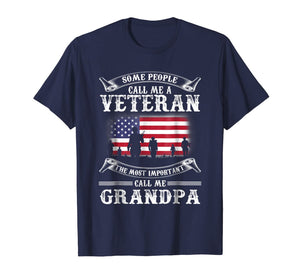 Proud Army Veteran Grandpa Shirt Gifts Best Fathers Day 2018 884318