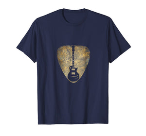 Vintage Guitar Pick New T Shirts Gifts Guitarist Love Music