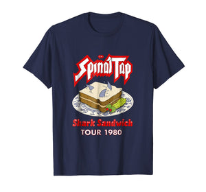 Spinal Tap Shark Sandwich Tour 1980 T Shirt