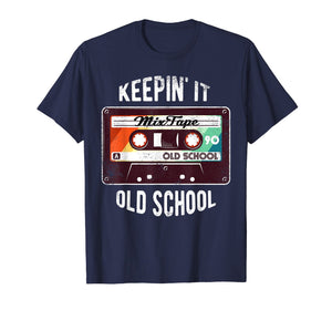 Old School Hip Hop 80s 90s Mixtape Graphic T Shirt