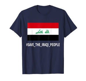 Support the protesters in Iraq Save the Iraqi People T-Shirt