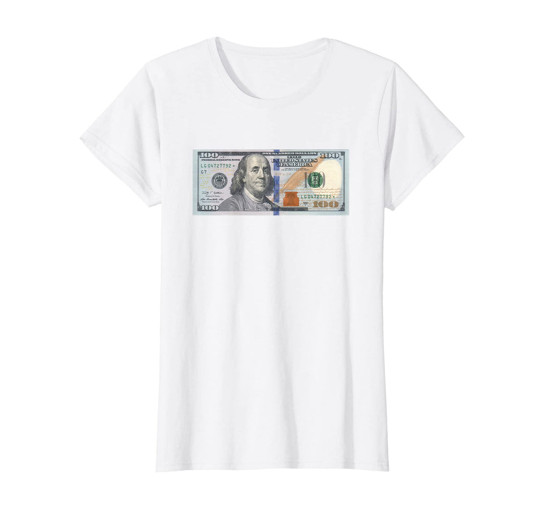 The Official $100 Dollar Bill Baller T Shirt