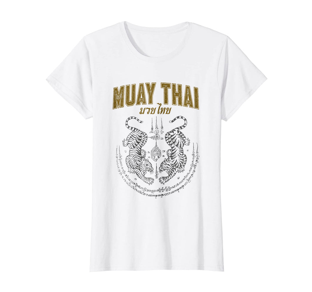 Twin Tiger Sak Yant Muay Thai T-Shirt