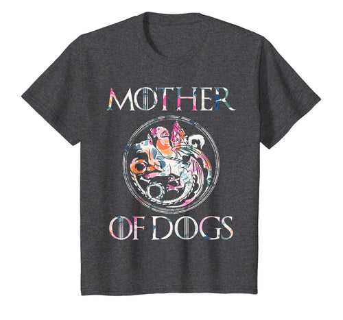 Mother of Dogs Floral Flower T-Shirt Funny Gifts Dogs Lovers T-Shirt 59456