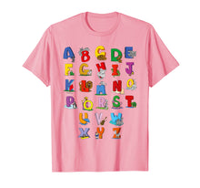Ladda upp bild till gallerivisning, Alphabet T-Shirt Funny Cute Kindergarten Rocks For Kids