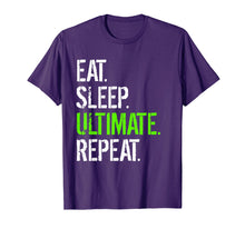 Ladda upp bild till gallerivisning, Funny shirts V-neck Tank top Hoodie sweatshirt usa uk au ca gifts for Eat Sleep Ultimate Repeat - Funny Frisbee T-Shirt 1616044
