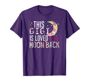 This Gigi Is Loved To The Moon And Back Tshirt