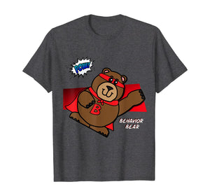 POW! Characters of Character Superhero Bear T-Shirt