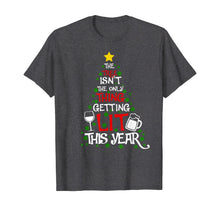 Ladda upp bild till gallerivisning, Funny shirts V-neck Tank top Hoodie sweatshirt usa uk au ca gifts for The TREE Isn't The Only Thing Getting Lit This Year T-Shirt 516085