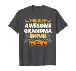 This Is My Awesome Grandma Costume Halloween Gift T-Shirt 153953