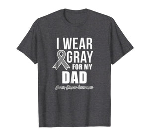 Brain Cancer Shirts For Men For Women I Wear For Dad