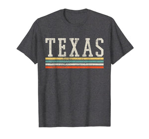Texas Shirt Country Tshirt Traveler Souvenir Retro Vintage
