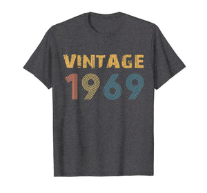 1969 Vintage Funny 50th Birthday Gift T Shirt