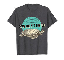 Ladda upp bild till gallerivisning, Save The Sea Turtle T-Shirt - Endangered Species Tee