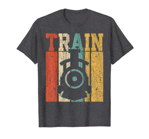 Trains T-Shirt Models Tshirt Rails Tee Tracklines Gift
