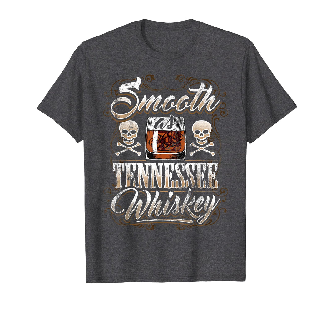 Funny shirts V-neck Tank top Hoodie sweatshirt usa uk au ca gifts for Smooth As Tennessee Whiskey T-Shirt Men Skull Vintage 1041139