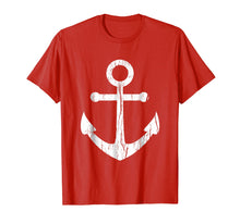 Ladda upp bild till gallerivisning, Vintage Boat Anchor T Shirt Nautical Sailing Mens, Boys Gift