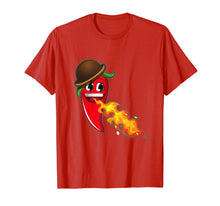 Ladda upp bild till gallerivisning, Funny shirts V-neck Tank top Hoodie sweatshirt usa uk au ca gifts for Chilli Pepper Breathing Red Hot Fire Chilly Funny Food Sauce 920601