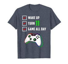 Ladda upp bild till gallerivisning, 11th Birthday Gamer T Shirt Level 11 Unlocked Gamer Birthday
