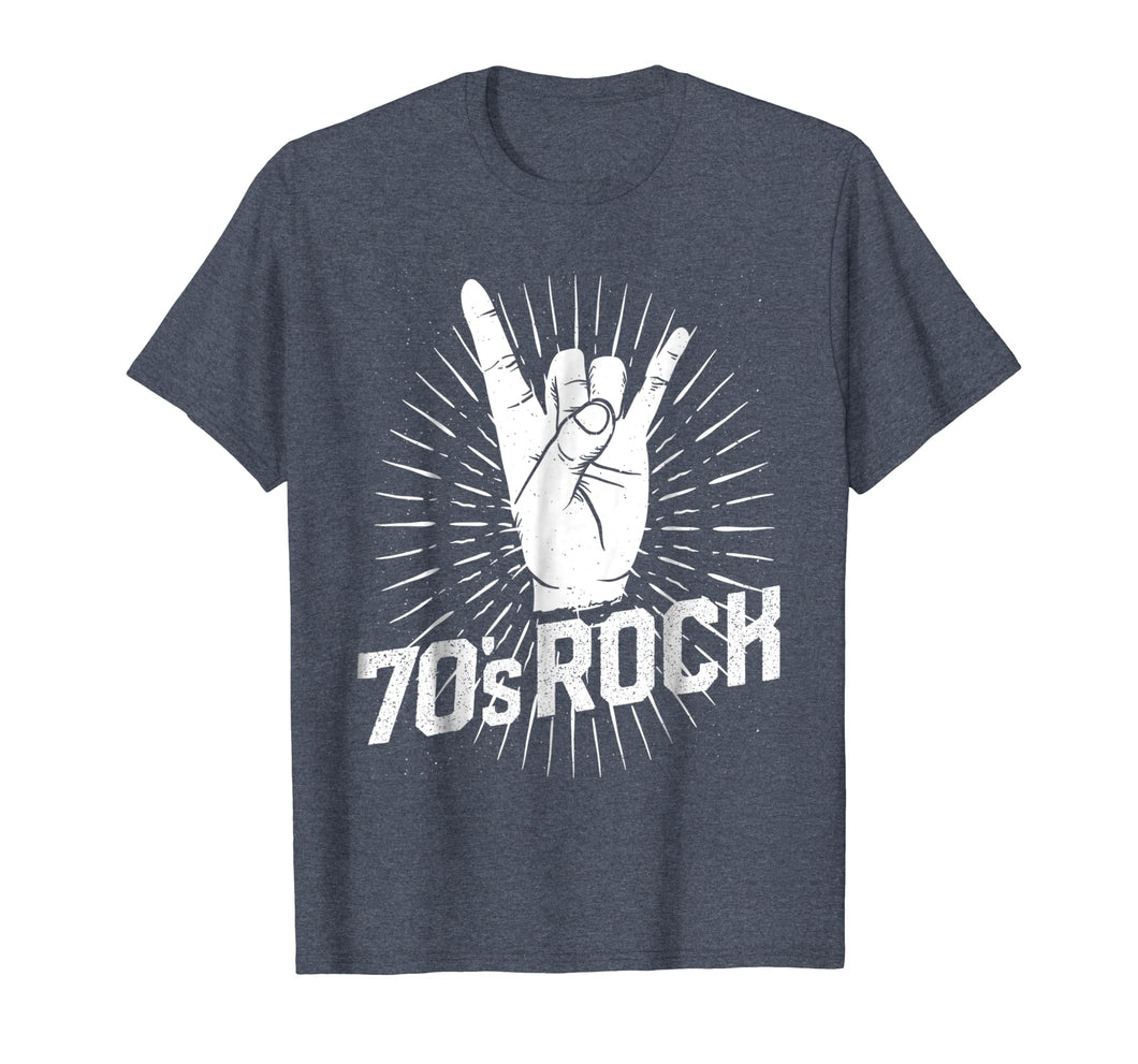 70s Rock Tshirt Costume Clothes Music Band Party Halloween